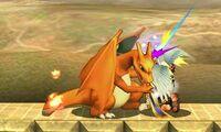 Golpiza de Charizard SSB4 (3DS)