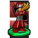 Trofeo de Proto Man en Mundo Smash SSB4 (Wii U)