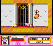 Waddle Dee Sombrilla en Kirby Super Star
