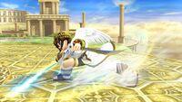 Ataque Smash hacia abajo (1) Pit SSB4 Wii U