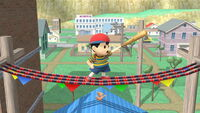 Burla lateral Ness SSB4 (Wii U)