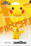 Embalaje del amiibo de Pikachu