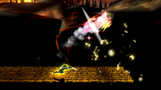 Golpe Trifuerza (Link) (6) SSB4 (Wii U)