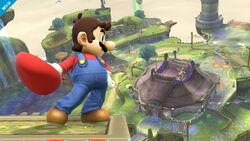 Mario en SSB4(wii U)