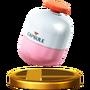 Trofeo de Cápsula SSB4 (Wii U)