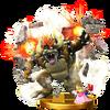 Trofeo de Giga Bowser SSB4 (Wii U)