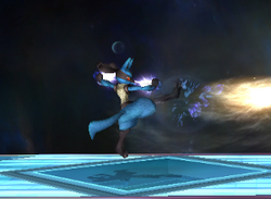 Ataque normal Lucario SSBB (3)