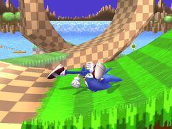 Burla inferior Sonic SSBB