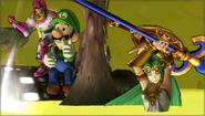 Créditos Modo Senda del guerrero Palutena SSB4 (3DS)