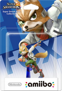 Embalaje del amiibo de Fox
