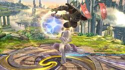 Lanzamiento hacia arriba Mewtwo (3) SSB4 (Wii U)