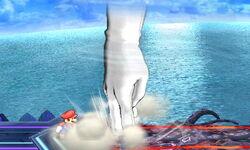 Master Hand Tornado (2) SSB4 (3DS)