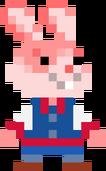 Sprite de Arcade Bunny en Super Mario Maker