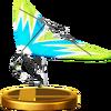 Trofeo de Ala delta SSB4 (Wii U)