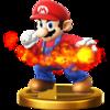 Trofeo de Mario SSB4 (Wii U)