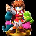 Trofeo de Príncipe de Sablé SSB4 (Wii U)