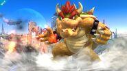Aliento de fuego de Bowser SSB4 (Wii U)
