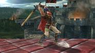 Ataque Smash lateral de Ike (1) SSB4 (Wii U)