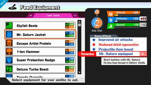 Estadisticas del amiibo SSB4 (Wii U) (2)