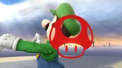 Pose de victoria 3 (1) Luigi SSB4 (Wii U)