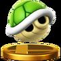 Trofeo Caparazón Verde SSB4 (Wii U)