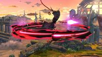 Ataque Aéreo Normal Bayonetta SSB Wii U
