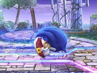 Ataque rápido Sonic SSBB