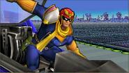 Créditos Modo Leyendas de la lucha Captain Falcon SSB4 (3DS)