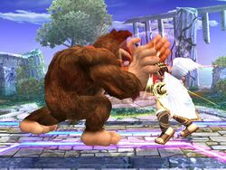 Golpiza Donkey Kong SSBB
