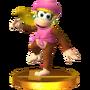 Trofeo de Dixie Kong SSB4 (3DS)