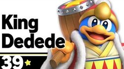 39 King Dedede – Super Smash Bros