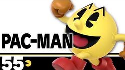 55 PAC-MAN – Super Smash Bros