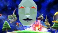 Andross, Pit, Fox y Mario en la Galaxia Mario - (SSB. for Wii U)