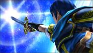 Créditos Modo Senda del guerrero Marth SSB4 (3DS)