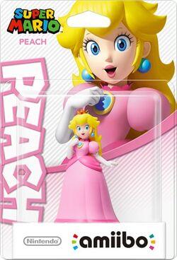 Embalaje del amiibo de Peach (serie Mario)