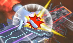 Master Hand Cohete (3) SSB4 (3DS)
