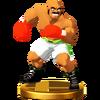 Trofeo de Bald Bull SSB4 (Wii U)
