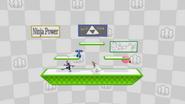 Algunas publicaciones de ánimo en el escenario Miiverse SSB4 (Wii U)