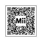 Código QR para el Mii de Link