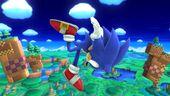 Indefensión Sonic SSB4 (Wii U)