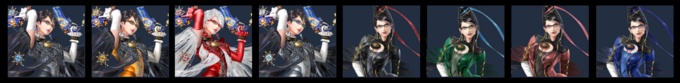 Paleta de colores de Bayonetta (SSB4)