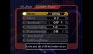 Pantalla de reglas SSBM