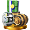 Trofeo de Barriles SSB4 (Wii U)