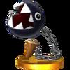 Trofeo de Chomp cadenas SSB4 (3DS)