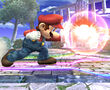 Ataque Smash lateral Mario SSBB