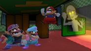Créditos Modo Leyendas de la lucha Wario SSB4 (Wii U)
