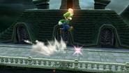 Supersalto Puñetazo (Luigi) SSB4 (Wii U)
