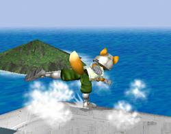 Ataque de recuperación de cara hacia arriba de Fox (2) SSBM