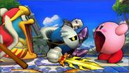 Créditos Modo Leyendas de la lucha Meta Knight SSB4 (3DS)