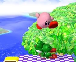 Lanzamiento hacia abajo de Kirby (3) SSBM